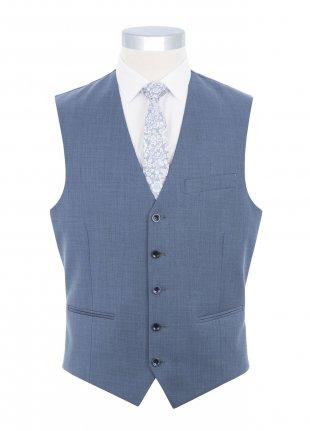 Denim Blue waistcoat